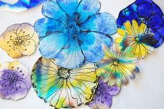 heArt Makes: Coffee filter flowers