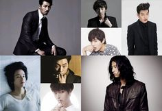20 Hottest Korean Male Model-Turned-Actors - Th.. they are all taller than me. :D I'm 5' 11''! Yes! There's hope!