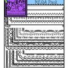 This is a TpT seller must-have! This set is PACKED with 20 fun doodle headers in a variety of styles (not all of them fit in the preview). These he...
