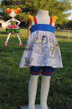 4T Princess inspired spring/summer set