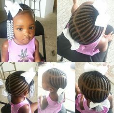 Temmie House Of Fashion: Amazing Back To School Hairstyles For The Princess Toddler Braided Hairstyles, Toddler Braids, Cute Hairstyles For Kids, Girls Natural Hairstyles, Baby Girl Hairstyles, School Hairstyles, Protective Hairstyles, Prom Hairstyles, Protective Styles