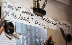 cas holmes : Workshops-Education