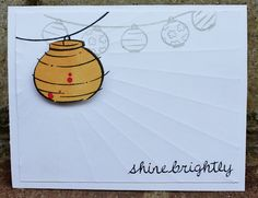 Lawnscaping Challenge #34 - #Embossing - Lalo's dry #embossed background rays are so awesome! (Honorable Gnome)