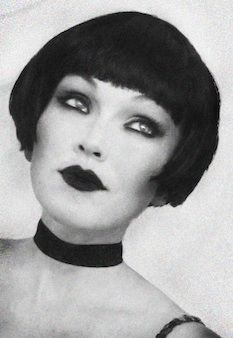 1920s Makeup Tutorial by Kandee Johnson - there's a video (the first 60 seconds are a bit painful but hang in there for the meat and potatoes)