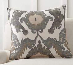 Hudson Ikat Pillow Cover