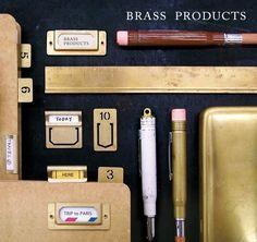 Brass products - Midori Stationery