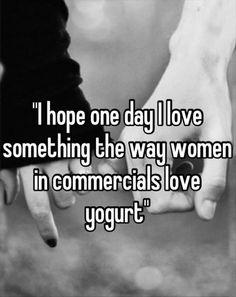 Yogurt commercials