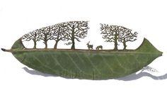 Planthalia: Sculptură în frunze