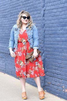 85 Stylish Plus Size Fashion Outfits Ideas For Women That You Can Try - ClothinLine Plus Size Dresses, Plus Size Outfits, Plus Size Fashion Dresses, Casual Outfits, Fashion Outfits, Womens Fashion, Fashion 2018, Cheap Fashion, Ladies Fashion