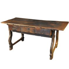 Spanish Table From The 17th Century