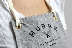 I would wear this apron outside...