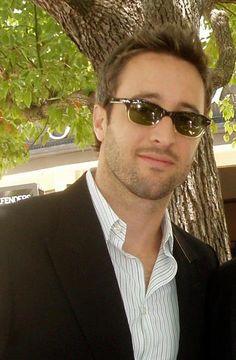 I love his glasses!