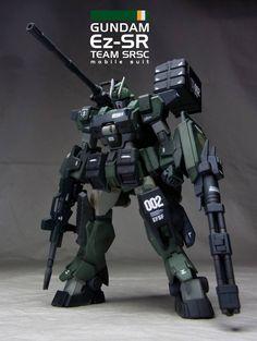 HGBF 1/144 ガンダム Ez-SR (ビルドファイターズトライ) - ヤフオク!