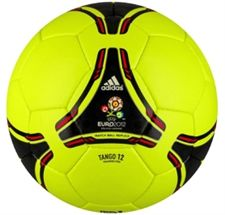 Adidas Euro 2012 Tango Training Pro Soccer Balls (Electricity Black) at  soccercorner. 25795aa32e58c