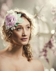 FREE SHIPPING Handmade Floral Fascinator in Pink by FineNFleurie, $50.00