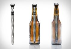 The Chilsner - like the Corksicle, but for beer, and you can drink through the top without taking it out. These better come in a six-pack!