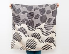 Japanese Furoshiki Scarf by Kyoko Bowman. How gorgeous is this?