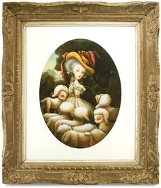 Benjamin Lacombe - Artwork - La Bergère de Versailles - Nucleus | Art Gallery and Store