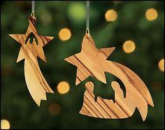 Nativity Star Ornament Assortment