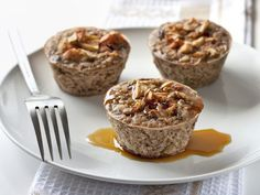 """I'm not a fan of the site this is posted on, but there are some good ideas. The one's to try on this list: -  """"BAKED OATMEAL"""" uses oatmeal, syrup (and/or brown sugar), almonds, and possibly the currents. - """"SPAGHETTI AND CHEESE NESTS"""" uses any type of noodles, cheese, and any leftover chicken if you have any - """"MUFFIN TIN TACOS"""" uses tortillas, any Mexican fillings -""""QUINOA PIZZA BITES"""" uses quinoa, sauce, cheese"""