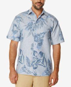 Cubavera Men's Short-Sleeve Print Shirt