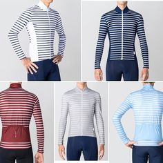 As cooler temps close in on us @lapassionecc breaks out the Breton stripe Long sleeve
