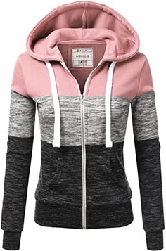 New Doublju Lightweight Thin Zip-Up Hoodie Jacket for Women with Plus Size plus size sweater dress. ($28.99) findtopgoods Fashion is a popular style Plus Size Sweater Dress, Plus Size Sweaters, Hoodie Outfit, Hoodie Jacket, Outfit Jeans, Stripes Fashion, Hooded Sweatshirts, Zip Ups, Jackets For Women