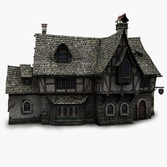 obj tavern obj tavern The post obj tavern appeared first on Baustil. Medieval Houses, Medieval Town, Minecraft Medieval, Wargaming Terrain, Fantasy House, Tudor House, Environment Concept Art, Miniature Houses, Fairy Houses