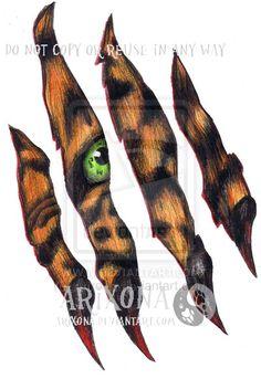 tiger tattoo by *Arixona