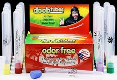 Odor and water-proof Doob Tubes. | 24 Gifts For The Secret Stoner You Know  Great for River Floating!