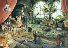 Garden Studio - A4 Print