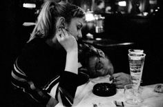 dennis stock(1928-2010), james dean with a friend at jerry's bar, in front of the ziegfeld theater on 54th street, new york city, 1955.   Read more: http://life.time.com/culture/james-dean-dennis-stock-photos-1955/#ixzz2YYdNXd8f [ LIFE WITH JAMES DEAN: THE ACCIDENTAL ICON http://life.time.com/culture/james-dean-dennis-stock-photos-1955/?iid=lb-gal-viewagn#1 ]