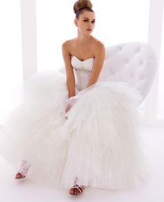 Model: Tiffany - Collezione Chanel di Gloria Saccucci Spose