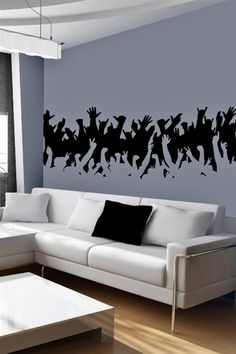 I just discovered some really cool wall art @walltat. It's do-it-yourself wall decals for kids and adults.  Check it out! #walltat, #DIY, #interiors Concert Crowd-Wall Decals #walldecals, #walltat
