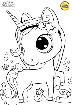 Cuties Coloring Pages for Kids – Free Preschool Printables – Slatkice Bojanke – Cute Animal Coloring Books by BonTon TV Barbie Coloring Pages, Unicorn Coloring Pages, Cute Coloring Pages, Coloring Pages For Girls, Cartoon Coloring Pages, Christmas Coloring Pages, Animal Coloring Pages, Coloring For Kids, Coloring Books