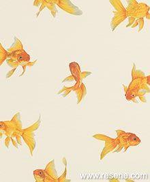 Goldfish - 465 wallpaper, from the Portobello collection by Brian Yates Portobello, Goldfish Wallpaper, Bosnia Y Herzegovina, 4 Wallpaper, Beautiful Wallpaper, Drops Patterns, Twitter Image, Latest Wallpapers, Inspirational Wallpapers