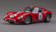 The Ferrari 250GTO, as run in the 1963 Nurburgring 1000-kilometer endurance classic. Highly detailed 1:18-scale diecast model by Kyosho, available now at Model Citizen.