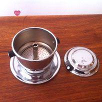 Filtre Expresso - 1 tasse - cuivre chromé-vintage 1960
