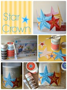 Little Star: Highlighting a Child's Special Day - star crown, star badge and photo book