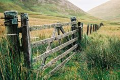 country life...weathered gates