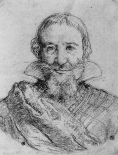 """Diego Velázquez Portrait of Gaspar de Guzmán y Pimentel, Count-Duke of Olivares; c. 1626 École nationale supérieure des Beaux-Arts, Paris """"Pencil drawing attributed to Velázquez, probably taken from life. It is certainly testimony to Velázquez's..."""