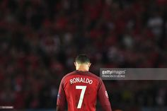 TOPSHOT - Portugal's forward Cristiano Ronaldo is pictured at the end of the Euro 2016 group F football match between Portugal and Austria at the Parc des Princes in Paris on June 18, 2016. / AFP / FRANCISCO
