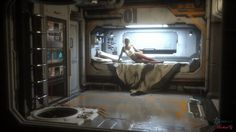 cosy scifi apartment - Google Search