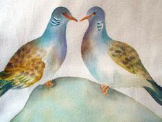 valentines turtle doves rikiwidesigns
