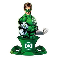 Green Lantern Bust DC Comics Resin Paperweight - http://lopso.com/interests/dc-comics/green-lantern-bust-dc-comics-resin-paperweight/