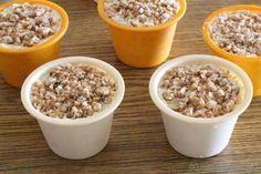 Semifreddo al croccantino Dulcisss in forno by Leyla Gelato, Cake Recipes, Cereal, Food And Drink, Sweets, Cooking, Breakfast, Desserts, Aurora
