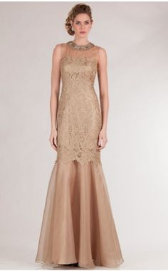 White and Gold Wedding. Gold Bridesmaid Dress. Soft and Romantic. Teri Jon gold evening gown  #Terijon #gold
