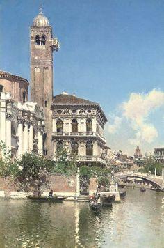 Martín Rico - Palazzo Labia, Venecia