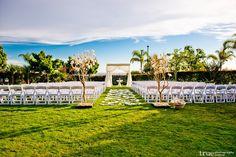 Outdoor Wedding Venue with California Coast Views at Sheraton Carlsbad Resort & Spa  #sheratoncarlsbadweddings Photo Credit: True Photography Weddings