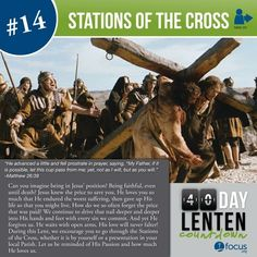 Lent Do the Stations of the Cross both in community and on your own............ Click to follow Devotions | DEVOTIO